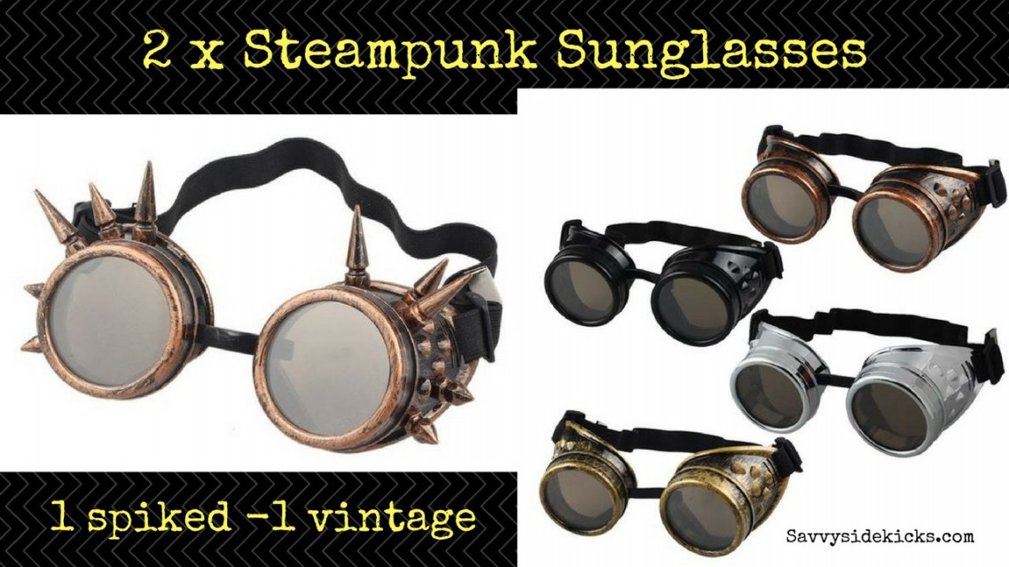 Steampunk Sunglasses x 2