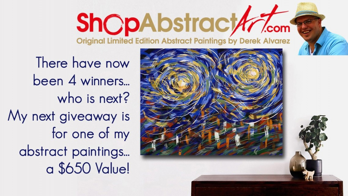 Abstract Art Giveaway