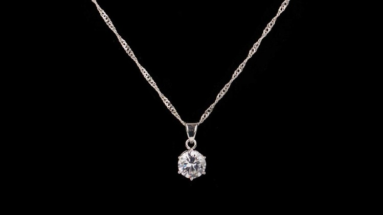 Win a CZ Diamond Necklace!