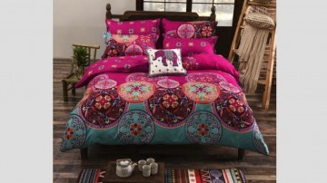 Bohemian Style Bed Set $149