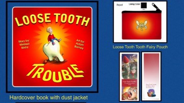 Loose Tooth Tooth Fairy Pouch