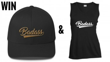 Just Badass Cap & Workout Tee